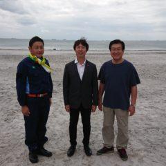 台風15号 19号 いなげの浜